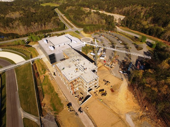 The expansion of the Barber Vintage Motorsports Museum should be complete later this year. (BL Harbert International)