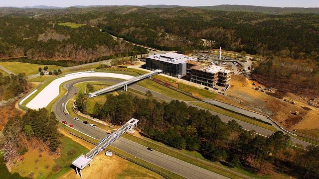 Barber Motorsports Park prepares for Indy Grand Prix of Alabama, tops out museum expansion