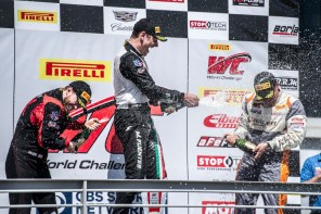 The second-largest crowd in the seven-year history of the Honda Indy Grand Prix of Alabama watched Simon Pagenaud's win. (Billy Brown/Alabama NewsCenter)