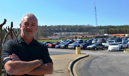 John Hackett, general manager of Kamtek in Birmingham, said the new plant is a great opportunity for the automotive supplier in Alabama. (Michael Tomberlin/Alabama NewsCenter)