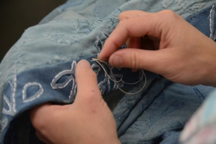 Alabama Chanin has created its own line of clothing and other products from Florence. (Karim Shamsi-Basha/Alabama NewsCenter)
