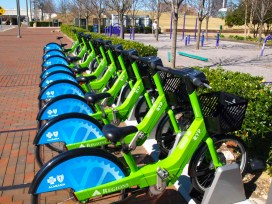 More than 6,000 people have used Birmingham's Zyp bikeshare system in its first few months. (Contributed)