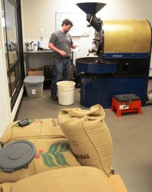 Hanson Eskridge has something special brewing with his Fairhope Roasting Co. (Karim Shamsi-Basha/Alabama NewsCenter)