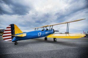 Boeing Searman (Photo by Drew Burke)