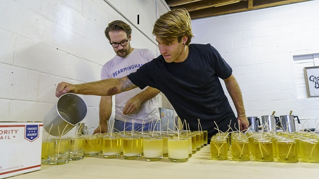 Alabama Maker Great Bear Wax Co. is shining a natural light