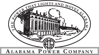 Alabama Power's logo in the early 1920s. (file)