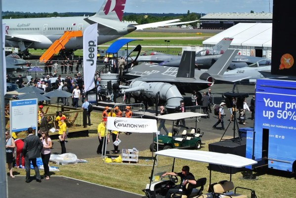 Farnborough International Airshow is held every other year and is the biggest event in aviation and aerospace in the world this year. (contributed)