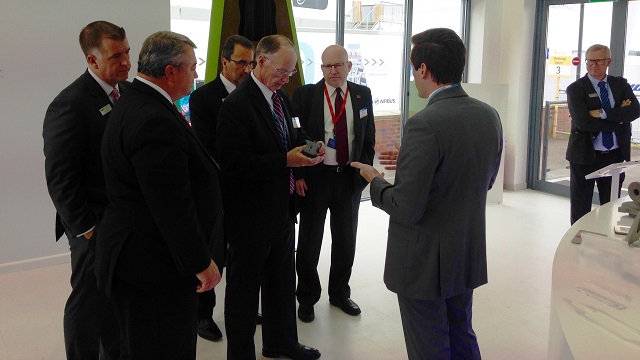 Alabama team begins high-level meetings at Farnborough Airshow