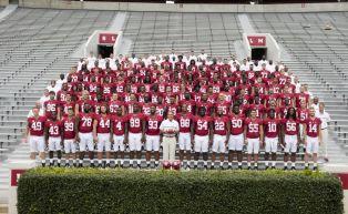 The 2016 Alabama Crimson Tide football team. (Kent Gidley / UA Athletics)