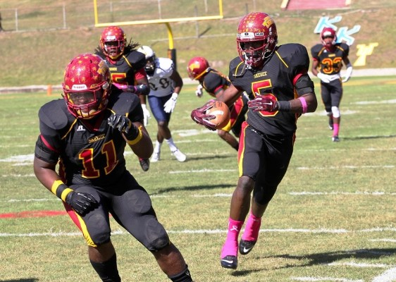 Linebacker Osband Thompson (5) should be among the team's best players this season. (Tuskegee Athletics)