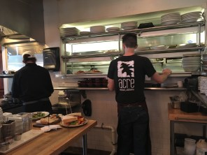 Staff working at Acre Restaurant in Auburn (Brittany Faush-Johnson/Alabama NewsCenter)