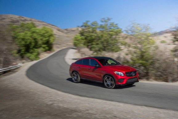 July U.S. sales of the Mercedes GLE were up 13 percent over a year ago. (photo/Mercedes-Benz)