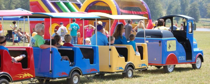 The entire family is in for a treat at the annual Cleburne County Fair on Saturday in Heflin, with carnival rides, bouncy houses, a petting zoo, rodeo and even a greased pig contest. (Contributed)