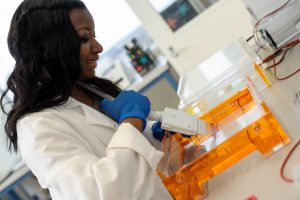HudsonAlpha's work focuses on genomics to discover more effective medical treatments and early diagnoses. (HudsonAlpha)