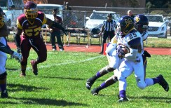 Junior running back Jamarcus Nance (25) is among Miles College's returning standouts. (Miles College Football)