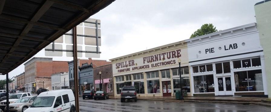 Pie Lab has helped revive downtown Greensboro. (Karim Shamsi-Basha / Alabama NewsCenter)