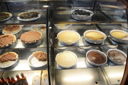The many pies of Pie Lab. (Karim Shamsi-Basha / Alabama NewsCenter)