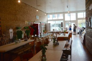 Pie Lab in Greensboro. (Karim Shamsi-Basha / Alabama NewsCenter)