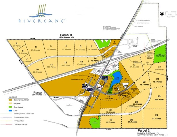 The Rivercane Industrial Park has landed Brown Precision and could be a key location for future companies. (contributed)