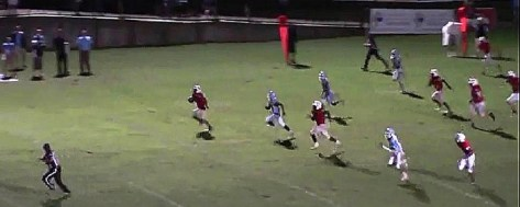 The second of two 99-yard touchdowns Brad Anderson scored in the same game. (Solomon Crenshaw Jr. / Alabama NewsCenter)