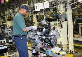 Toyota Alabama now has around 1,350 employees. (Image:Toyota)