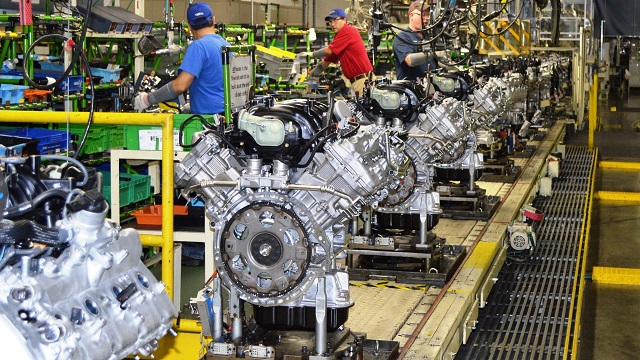 Toyota has invested $864 million in its Huntsville engine plant. (Toyota)