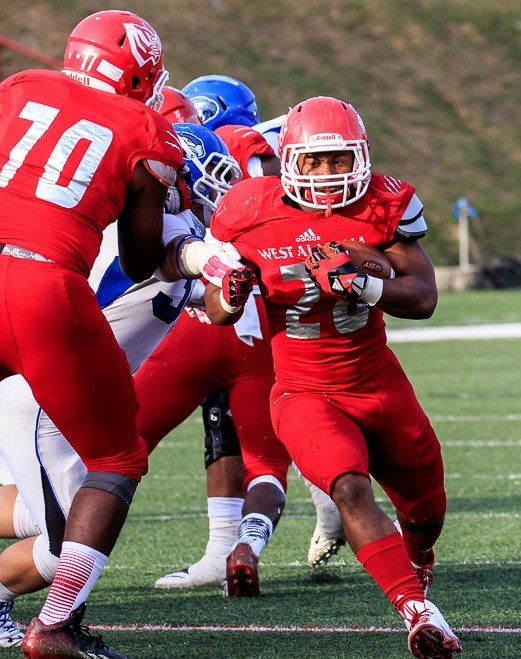 Running back Tyler Rogers has the potential to make good things happen this year for the University of West Alabama Tigers. (UWA Athletics)