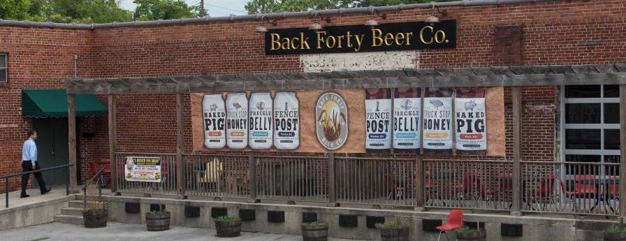 The Back Forty Beer Co. in Gadsden. (Bernard Troncale / Alabama NewsCenter)
