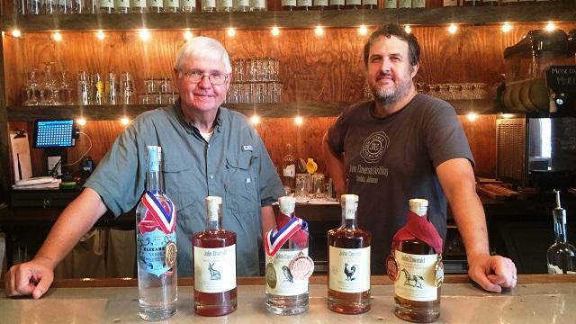 John Emerald Distilling is a true Southern spirit as well as an Alabama Maker