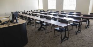 A classroom at Troy University in Phenix City, Al. (Bernard Troncale/Alabama NewsCenter)