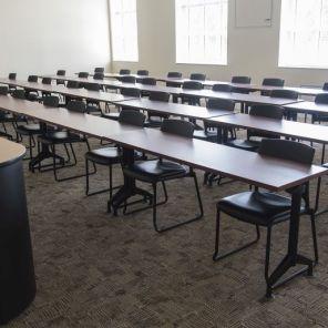 A classroom at Troy University in Phenix City, Al. (Bernard Troncale/Alabama NewsCenter)