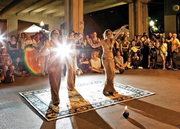 Artwalk aims to be fun and includes as many types of art as possible, including performance arts. (Arik Sokol)