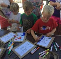 Kids can draw to their heart's content. (Images contributed)