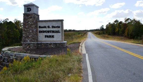 The Scott G. Davis Industrial Park near Woodstock will be home to MöllerTech. (Michael Tombelrin / Alabama NewsCenter)