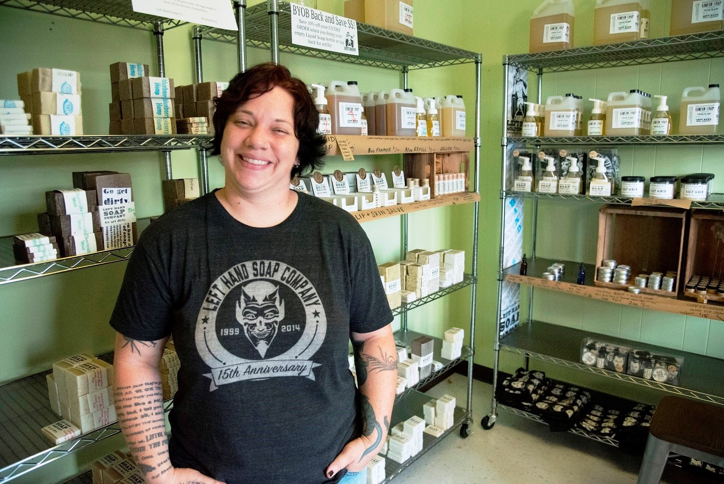 Alabama Maker Left Hand Soap cleans up with all-natural bath