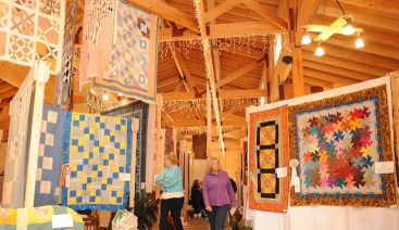See Civil War-era quilts. (Contributed)