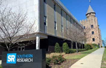 The Southern Research campus in Birmingham today, with Quinlan Castle in the background. (Southern Research)