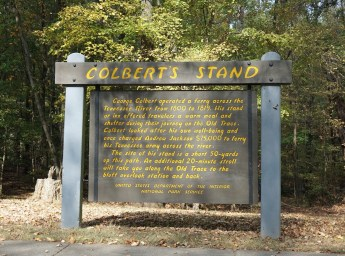 Natchez Trace Parkway stretches through three states, including Alabama where Colbert Stand is found. (Erin Harney / Alabama NewsCenter)