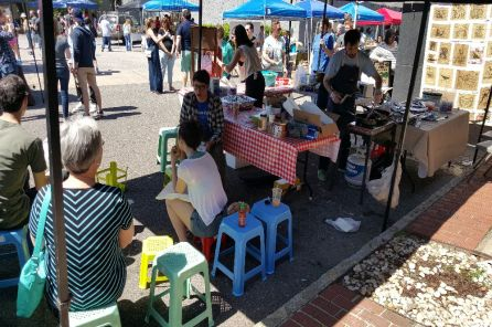 The Woodlawn Street Market is just in time for the holidays. (Contributed)
