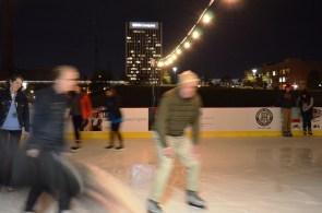 Birmingham's Winter Wonderland at Railroad Park has brought ice skating to the Magic City. (Michael Tomberlin / Alabama NewsCenter)