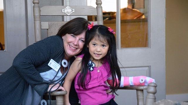 Katherine Estes Billmeier shares smiles, hugs, hope at Ronald McDonald House of Alabama