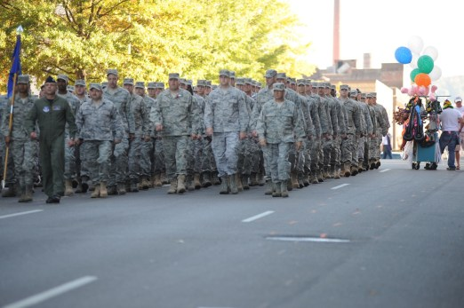 Scenes from the 2010 Birmingham Veterans Day Parade. (contributed)
