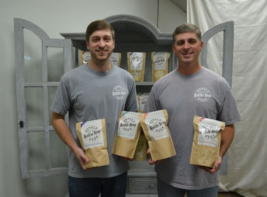 The Greer brothers began Kettle Bros looking for an inexpensive business venture. (Michael Tomberlin / Alabama NewsCenter)
