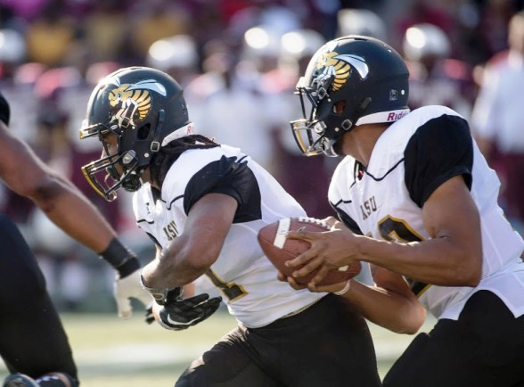 Alabama A&M Bulldogs and Alabama State Hornets play the largest historically black college and university (HBCU) rivalry game in the country.(David Campbell/Alabama State University)