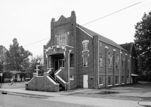 Birmingham's historic Bethel Baptist Church. (Jet Lowe/Library of Congress)