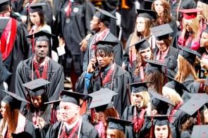 More than 30 Crimson Tide student-athletes graduation from the University of Alabama Saturday. (Robert Sutton/UA Athletics)