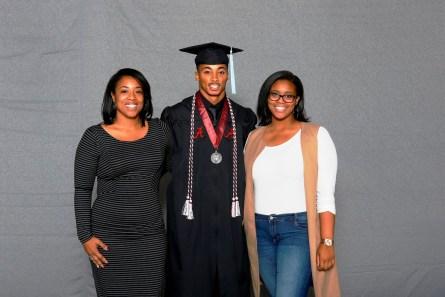 Anthony Averett was among more than 30 student-athletes who graduated from the University of Alabama on Saturday (Shelby Akin/UA Athletics)