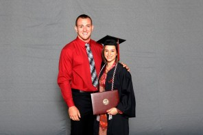 Anna Reed was among more than 30 student-athletes who graduated from the University of Alabama on Saturday (Shelby Akin/UA Athletics)