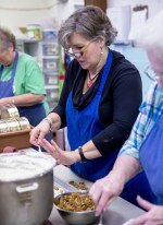 Kim Clay is the third generation of candy makers and co-owner of Punta Clara Kitchen in Point Clear. (Mark Sandlin / Alabama NewsCenter)