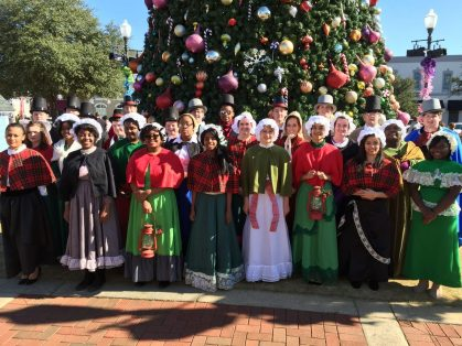 Christmas in Candyland in Andalusia, Alabama (Contributed).